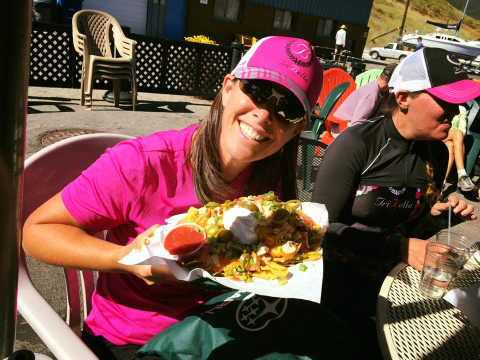 Mary Carey is a local triathlete who loves nachos and the great candy run